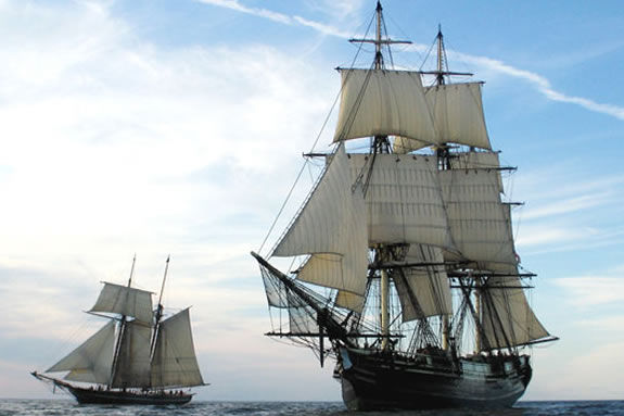 The Friendship of Salem is offering passenger sails duirng the Schooner Festiva!