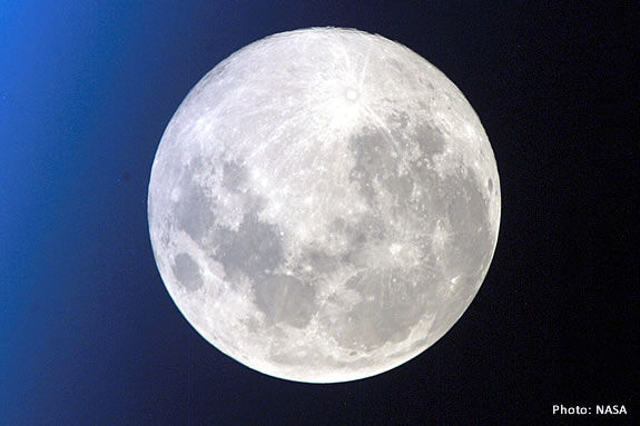 View the Moon through a telescope at Ipswich River Wildlife Sanctuary