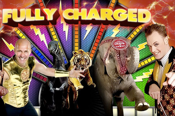 Ringling Brothers Barnum and Bailey Circus Fully Charged!