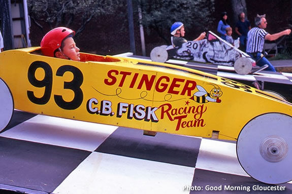 The Gloucester Fish Box Derby encourages teamwork and friendly competition!