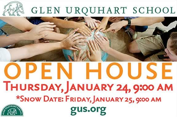 Glen Urquhart School admissions open house for families on the north shore of ma