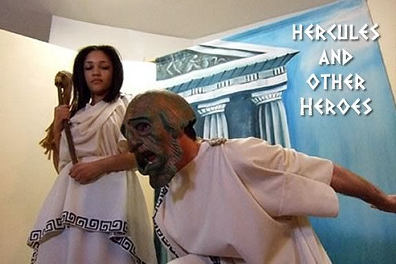 "The Hampstead Players will perform ""Hercules and The Heroes"" at MPL"