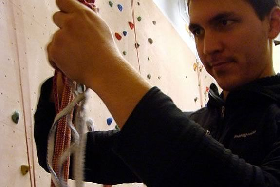 Ensure you child's safety while rock climbing by learning how to belay properly.