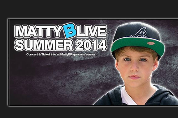 MattyB Raps Live in Massachusetts at the Chevalier Theatre in Medford
