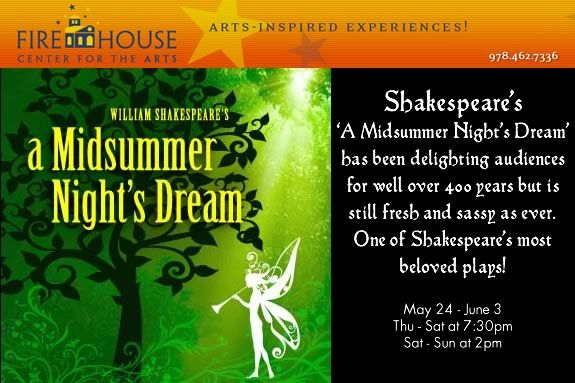 Enjoy one of Shakespeare's funnest plays at the Firehouse Center for the Arts.`
