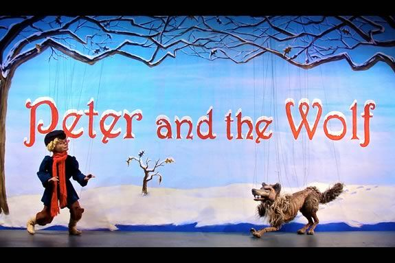 National Marionette Theater presents Peter and the Wolf at the Roger's Center