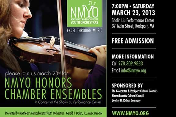 Northeast Massachusetts NMYO's Honors Chamber Ensembles