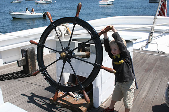 The Dockside toru fo the Schooner Adventure is a great time for kids!