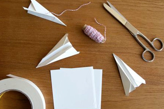 Celebrate Sally Ride Day at Manchester Library with a Paper Airplane Contest