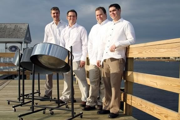 Plum Island Pans are a Steel Drum Band from Newburyport