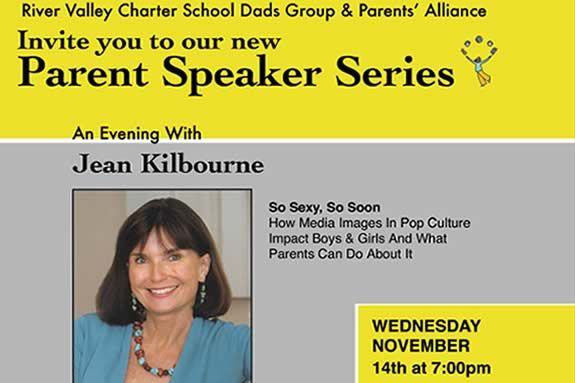 River Valley Charter School: An Evening with Jean Kilbourne Newburyport MA