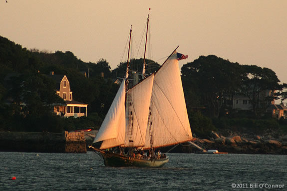 Sailing aboard the Schooner Thomas Lannon is an unforgettable experience