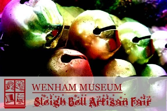 Find One-of-a-Kind gifts at Wenham Museum's Sleigh Bell Artisan Fair!