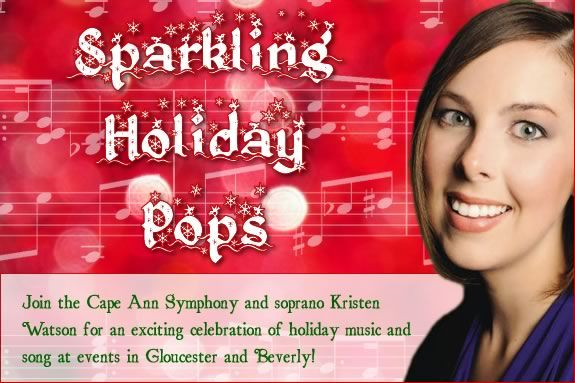 Join the Cape Ann Symphony for an exciting celebration of holiday music!
