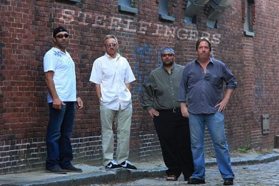 STEELFINGERS perform at the Newburyport Yankee Homecoming Waterfront Concert!