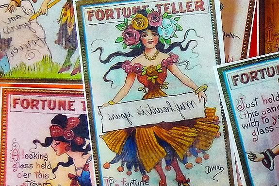 Teens will explore the world of fortune telling at Newburyprot Public Library!