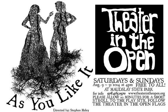 Theater in the Open present 'As You Like It' Maudslay State Park in Newburyport