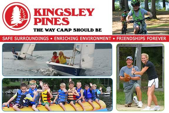 Kingsley Pines offers a traditional camp experience in Maine. Kingsley Pines the