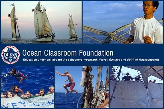 Ocean Classroom Foundation Seafaring Camp is for kids aged 13-18