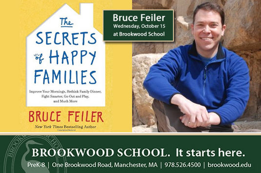 Brookwood School Manchester MA Speaker Event, New York Times Best Selling Author