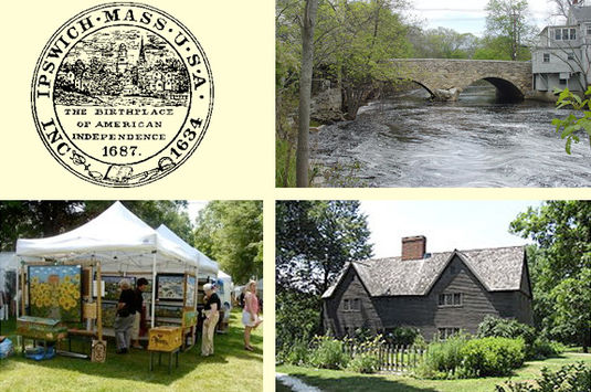 Old Ipswich Days Craft Fair for families and children on Cape Ann