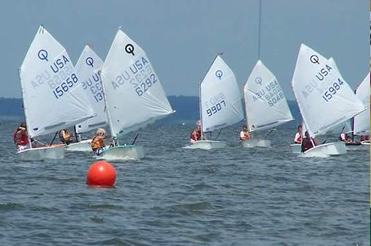 Sandy Bay Yacht Club Sailing Program in Rockport MA