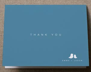 minted personalized baby thank you note cards