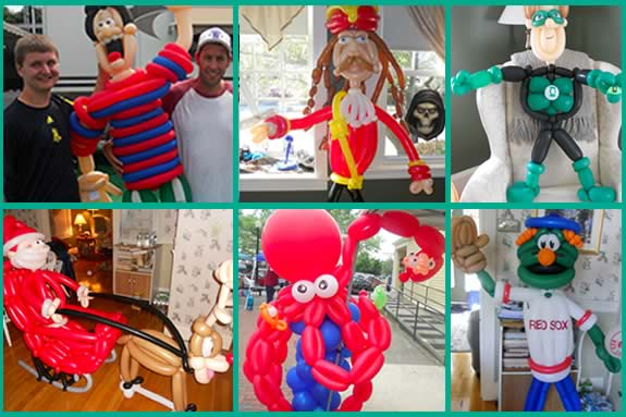 BAlloon Art, entertainment at birthday parties, fairs, festivals, promotions and