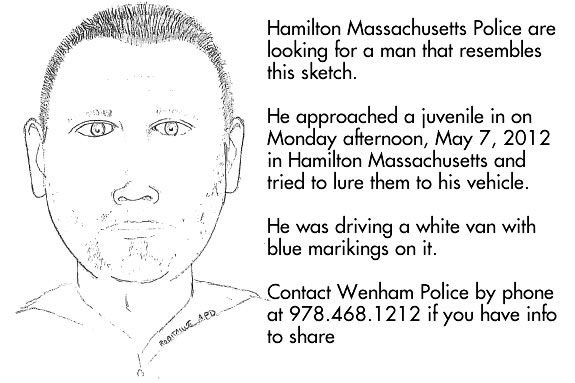 Hamilton police are looking to question this man about an attempted abduction.