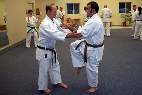 Mahaney's Uechi Ryu Karate Academy is located on Pond Road in Gloucester.