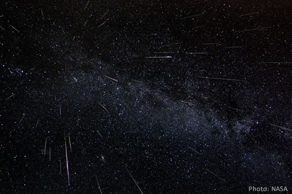 The Persied Meteor Shower promises a great show if the skies are clear!