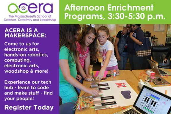Spend Afternoons at Acera STEAM Learning Lab