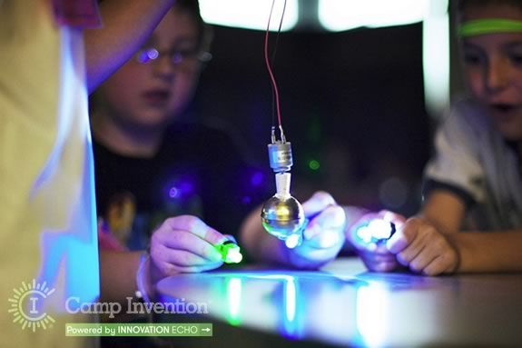 Kids can explore, create, discover and learn skills that will follow them through their futures at Camp Invention!