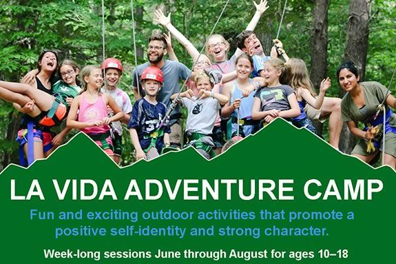 La Vida at Gordon College offers summer adventure experiences for kids and teens on the North Shore