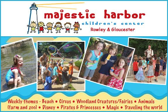 Summer programs for children ages 3-6 years old.
