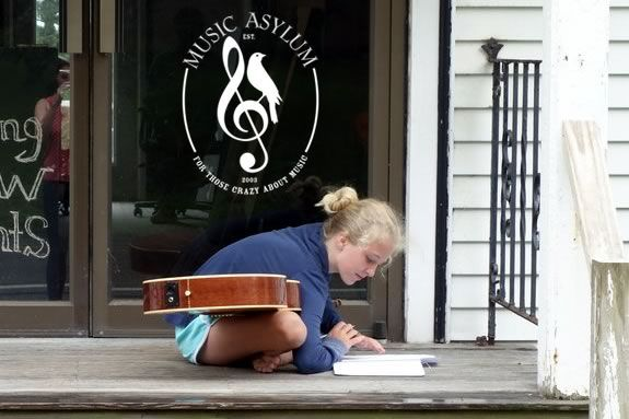 Kids ages 10-18 will learn about song writing and composition at the Music Asylum Summer Songwriting workshops!