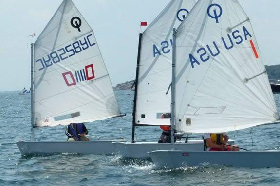 Junior Sailing Program at Eastern Point Yacht Club