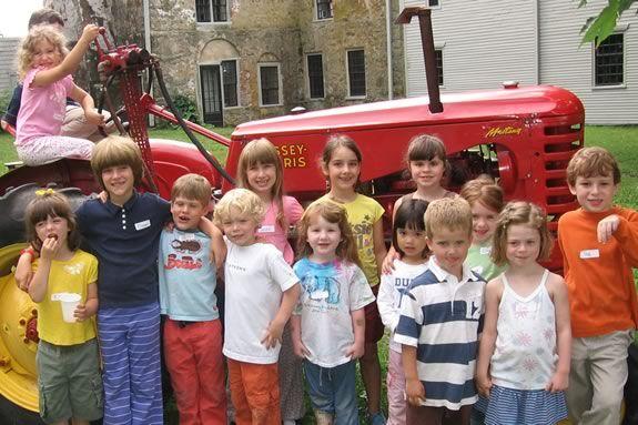 Littel Farmers Summer Programs for younger kids at Spencer-Peirce Little Farm in Newbury Massachusetts