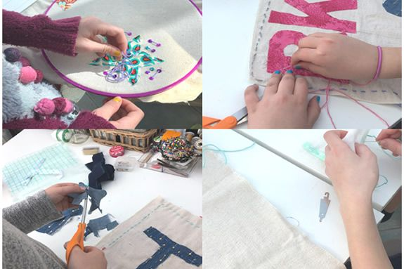 Sewing lessons for children in Rockport MA