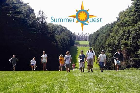 SummerQuest at the Trustees of Reservations' Crane Estate in Ipswich Massachusetts!