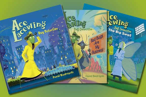 Meet the Author of the Ace Lacewing Series David Biedrzyki at this PEM Story Tra