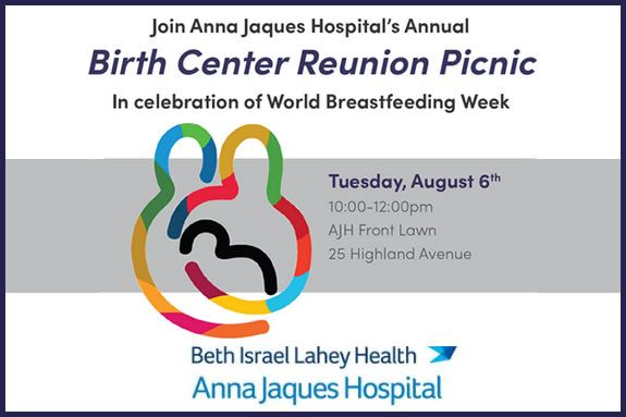 Anna Jaques Hospital Birth Center Reunion Picnic  - Newburyport MA