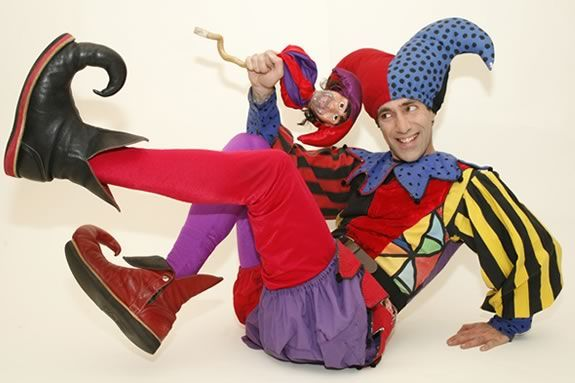 Kids will love the truly 'old school' comedy antics of Alexander, King of Jester