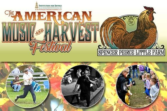 An afternoon of family fun - The American Harvest and Music Festival at Spencer Peirce Little Farm in Newbury Massachusetts!
