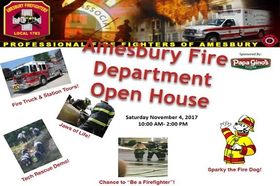 Amesbury Fire Open House