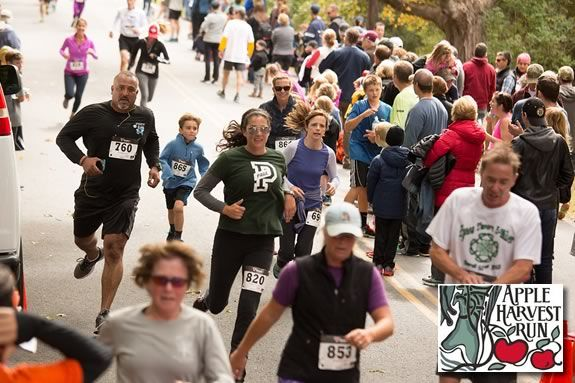 The Apple Harvest Run in West Newbury is one of the best autumn races in the region.