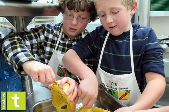 Kids will plant and cook on Earth Day at Appleton Farms in Ipswich Massachusetts!!