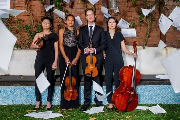 The Argus Quartet will perform a FREE Family concert at the Shalin Liu Center in Rockport Massachusetts`