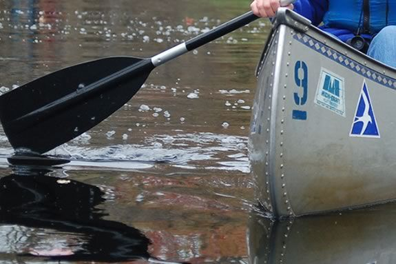 Teach the little ones the joy of canoeing at Ipswich River Wildlife Sanctuary!