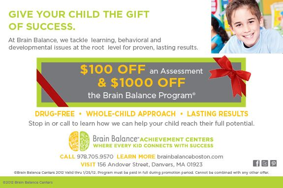 Brain Balance Achievement Center Danvers MA Information Session